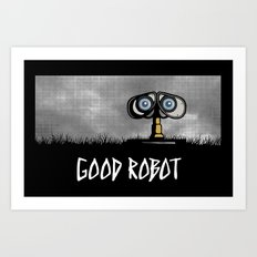 Good Robot Art Print