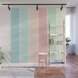 Sort of Herringbone Wall Mural