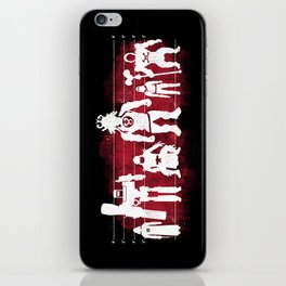 Plastic Villains  iPhone Skin