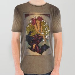 Angel Of Peace All Over Graphic Tee