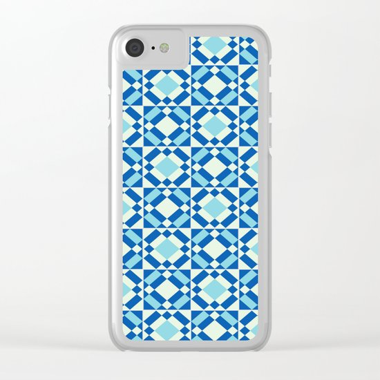 Azulejos 9 Clear iPhone Case