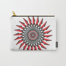 Interwoven Geometric Star Carry-All Pouch