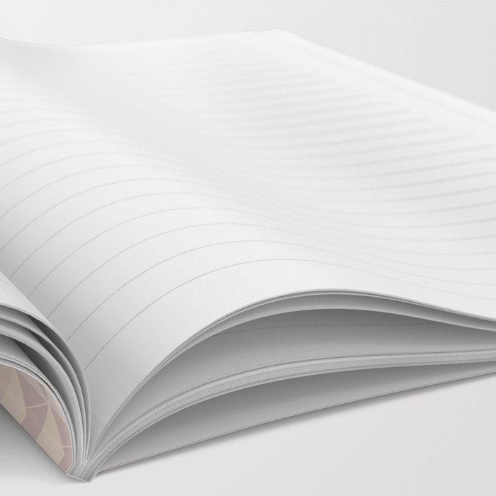 Soft Mini Triangles Notebook