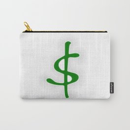 Shrinking Dollar Carry-All Pouch