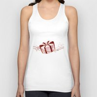 candy Tank Tops featuring Candy by rusanovska