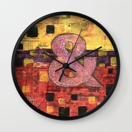 Journey by Number: Ampersand Wall Clock
