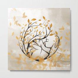 Maternal Metal Print