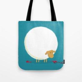 Fluffy Sheep Tote Bag