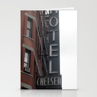chelsea Stationery Cards featuring Chelsea by Leah Moloney Photo