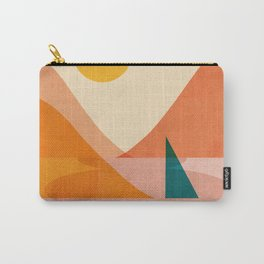 Abstraction_Lake_Sunset Carry-All Pouch