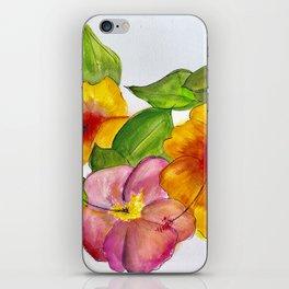 Hibiscus Flowers iPhone Skin