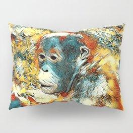AnimalArt_OrangUtan_20170906_by_JAMColors Pillow Sham