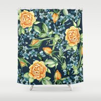 roses Shower Curtains featuring Roses by Julia Badeeva