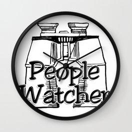 People Watcher Wall Clock