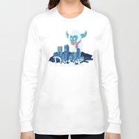 denver Long Sleeve T-shirts featuring Denver by queeneyesore