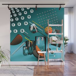 3D POSH GEOMETRY II Wall Mural