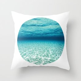 Under Water 9 Throw Pillow