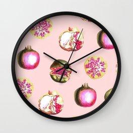 Pom Zest #society6 #artprints #buyart Wall Clock