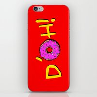 simpsons iPhone & iPod Skins featuring The Simpsons: D´oh! by dutyfreak