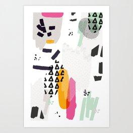 Heading towards confusion Art Print