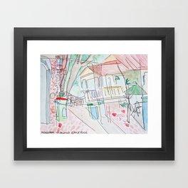mongoose junction Framed Art Print