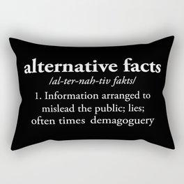 Alternative Facts Rectangular Pillow