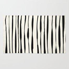 Retro Stripe Reverse Rug