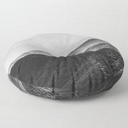 Smoky Mountain Floor Pillow
