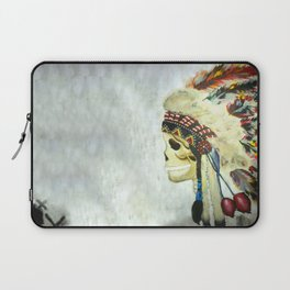INDIAN WITH HEAD DRESS Laptop Sleeve