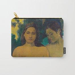 Paul Gauguin - Two Tahitian Women Carry-All Pouch