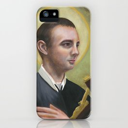 Saint Gerard Majella iPhone Case