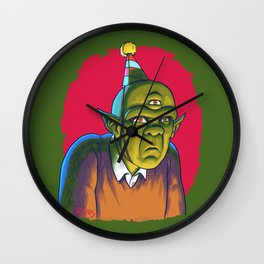 Totally Not Feelin' This Party Wall Clock