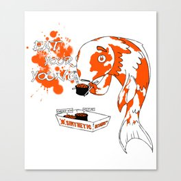 Eat Your Young: Fish Canvas Print