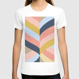 SUNSET MINIMAL STRIPES T-shirt