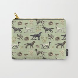 Bird-dog pattern Carry-All Pouch
