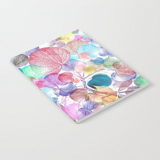 Leaf mosaic(28) Notebook