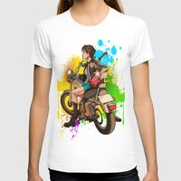 silent T-shirts featuring Silent by Don Kuing