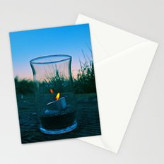 Seaside flame Stationery Cards