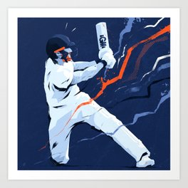 Headingley Hero Art Print