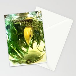 When life gives you lemons you make mint tea  Stationery Cards