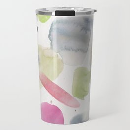 23| 1903016 Watercolour Abstract Painting Travel Mug