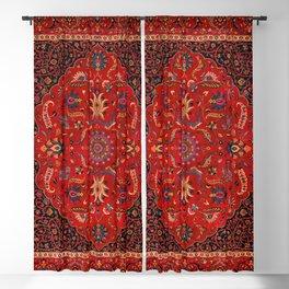 Antique Persian Rug Blackout Curtain