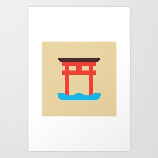 Japan Torii Art Print