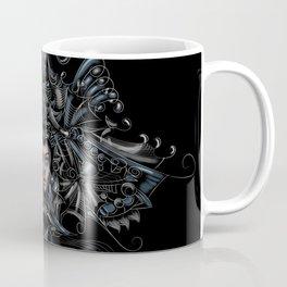 Metalic flower girl Coffee Mug