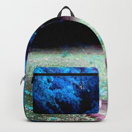 Enchanted Park Turquoise Backpack