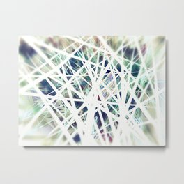 White Light - A study in Line, Color, and Light  Metal Print