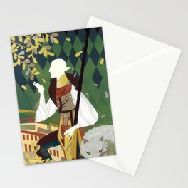 Dragon Age Paper Art Solas Stationery Cards