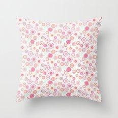 In my garden Throw Pillow