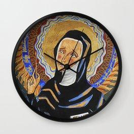 St. Hildegard of Bingen Wall Clock