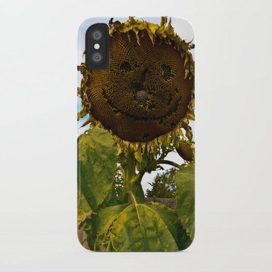 Mister Sunflower iPhone Case